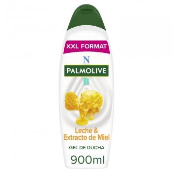 Gel de ducha hidratante con leche y miel NB Palmolive 900 ml.