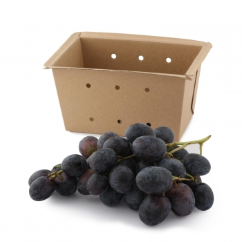 Uva negra sin pepita Carrefour 500 g