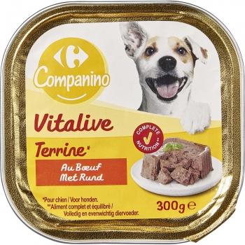 Carrefour Comida Húmeda para Perro de Buey 300g