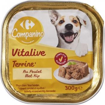 Carrefour Comida Húmeda para Perros Adulto de Pollo 300g