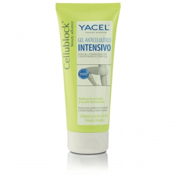 Gel anticelulítico intensivo Cellublock Yacel 200 ml.