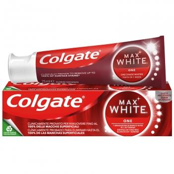 Dentífrico blanqueador one Max White Colgate 75 ml.