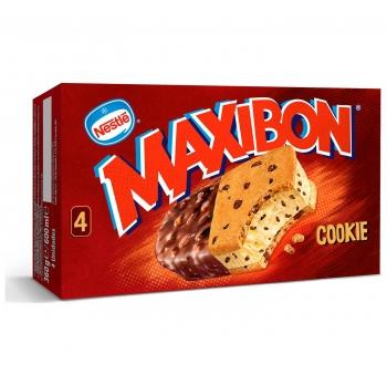 Sandwich Maxibon Cookie Nestlé 4 ud.