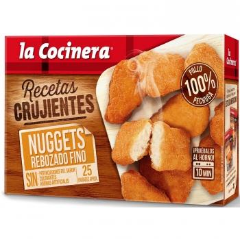 Nuggets de pollo rebozado fino la cocinera 400 g.