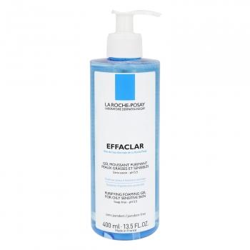Gel limpiador Effaclar para pieles grasas y sensibles La Roche-Posay 400 ml.