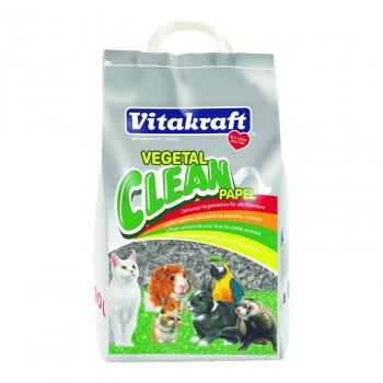 Vitakraft Vegetal Clean Papel Lecho Higiénico 10l