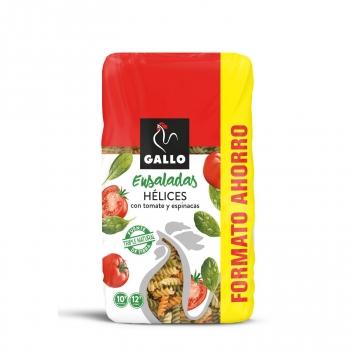 Hélices de tomate y espinacas especial ensaladas Gallo 750 g.