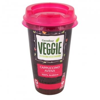 Café latte cappuccino Carrefour Veggie sin lactosa 240 ml.
