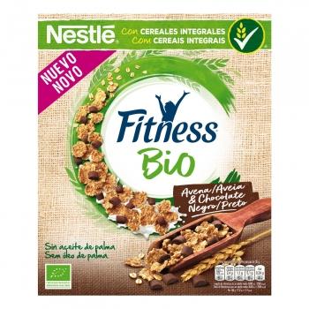 Cereales integrales con avena y chocolate ecológicos Fitness 300 g,