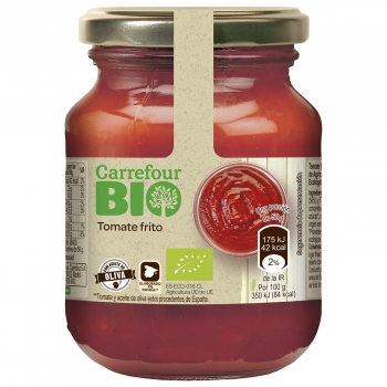 Tomate frito ecológico Carrefour Bio 300 g.