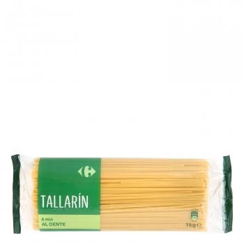 Tallarines Carrefour 1 kg.