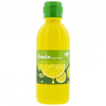 Aderezo de limón exprimido Carrefour 250 ml.