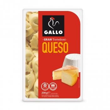 Pasta gran tortelloni de queso Gallo 200 g.