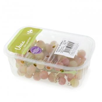 Uva roja sin pepita sabor moscatel Carrefour 300 g