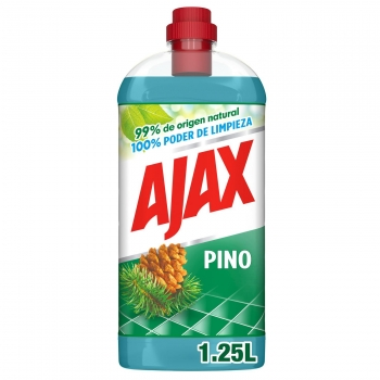 Limpiador multiusos pino frescor y limpieza Ajax 1,25 l.