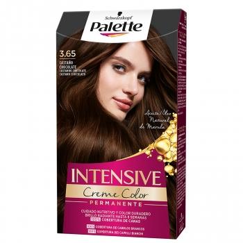 Tinte 3.65 castaño chocolate Intensive Color Cream Palette 1 ud.