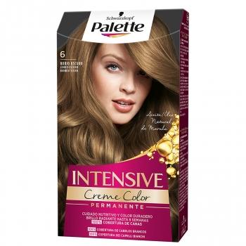 Tinte 6 rubio oscuro Intensive Color Cream Palette 1 ud.