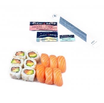 Menu two Sushi Daily 12 piezas
