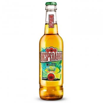 Cerveza Desperados sabor mojito botella 33 cl.