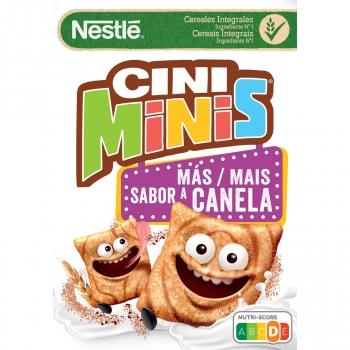 Cereales integrales Cini Minis Nestlé 375 g.