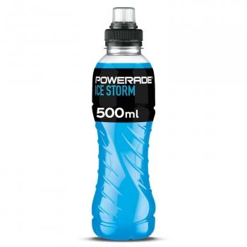 Powerade Ice Storm con tapón sport botella 50 cl.