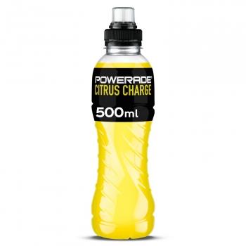 Powerade Citrus con tapón sport botella 50 cl.