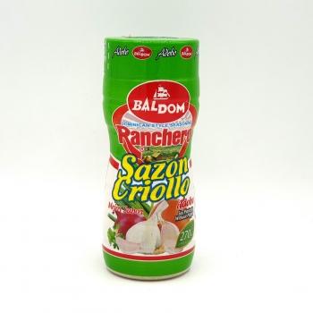 Sazonador criollo ranchero en polvo Baldom sin gluten y sin lactosa 273 g.