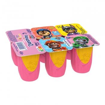Petit de fresa y plátano Danonino sin gluten pack de 6 unidades de 50 g.