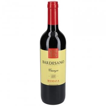 Vino tinto crianza Bardesano D.O.Ca. Rioja 75 cl.