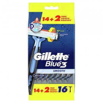 Maquinillas desechables Gillette 16 ud.