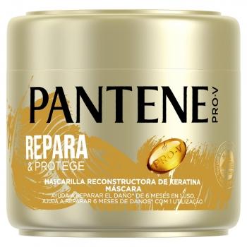 Mascarilla capilar reconstructora de keratina Repara & Protege Pro-V Pantene 300 ml.