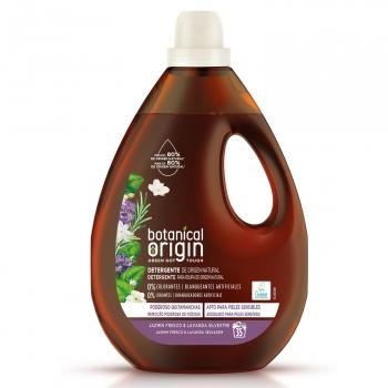 Detergente líquido jazmín fresco y lavanda silvestre ecológico Botanical Origin 35 lavados.