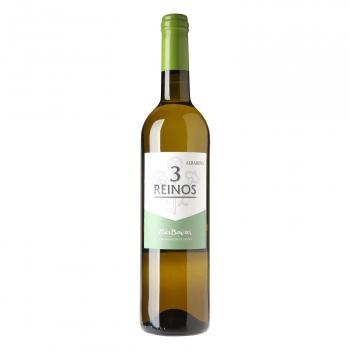 Vino blanco albariño D.O.Rias Baixas 75 cl.