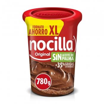 Crema de cacao con avellanas original Nocilla sin gluten y sin aceite de palma 780 g.