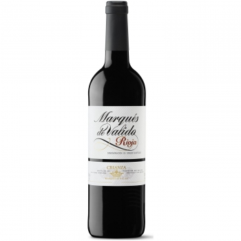 Vino tinto crianza Marqués de Valido D.O. Ca. Rioja 75 cl.