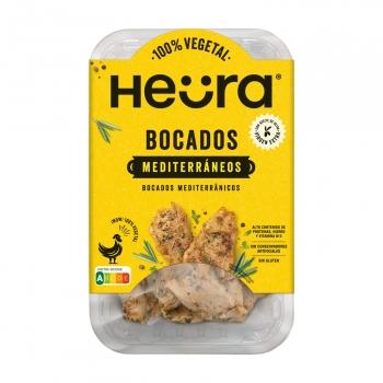 Bocados mediterraneo de Heüra sin gluten 160 g.