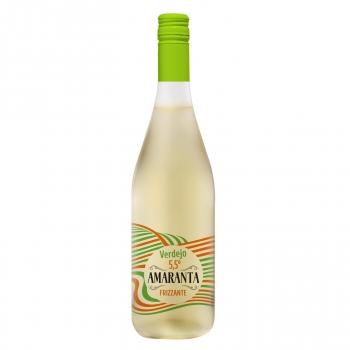 Vino frizzante blanco verdejo Amaranta 75 cl.