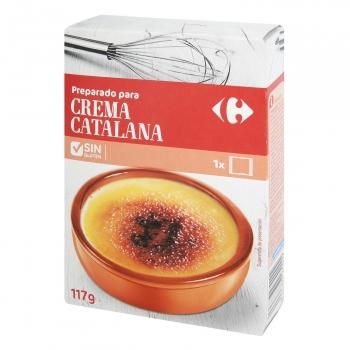 Preparado para crema catalana Carrefour 150 g.