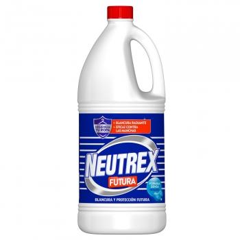 Lejía lavadora acción total Neutrex Futura 1,8 l.