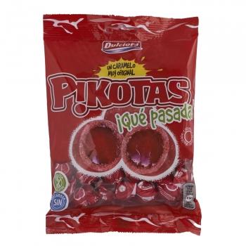 Caramelos Pikotas Dulciora sin gluten y sin lactosa 100 g.