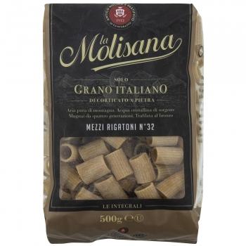 Pasta integral mezzi rigatoni La Molisana 500 g.