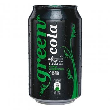 Green Cola zero azúcar lata 33 cl.