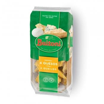 Ravioli de 4 quesos Buitoni 276 g.