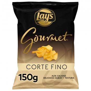 Patatas fritas corte fino gourmet Lay's 150 g.