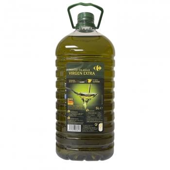 Aceite de oliva virgen extra Carrefour garrafa 5 l.