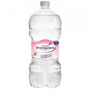 Agua mineral Fuente Primavera natural 1,5 l.