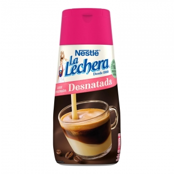 Leche condensada desnatada Nestlé La Lechera 450 g.