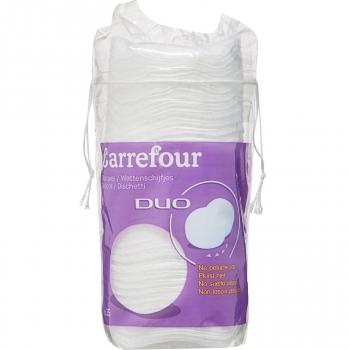 Discos de algodón desmaquillantes Carrefour 35 ud.