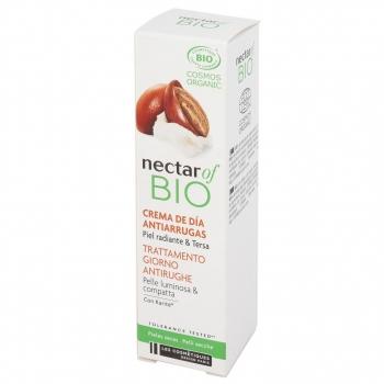 Crema de día antiarrugas con manteca de karité para pieles secas ecológica Nectar Of Bio 30 ml.