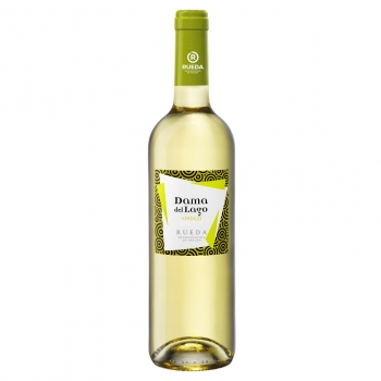 Vino blanco verdejo Dama del Lago D.O. Rueda 75 cl.